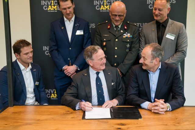 The vfonds becomes Founding Partner of the Invictus Games The Hague 2020 for 2 million euros