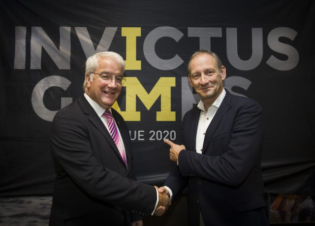 Lockheed Martin 'official supporter' van de Invictus Games Den Haag 2020