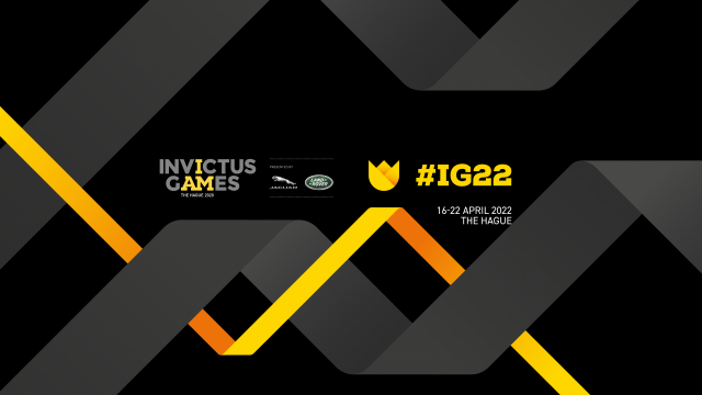 Invictus Games Den Haag naar 16-22 april 2022