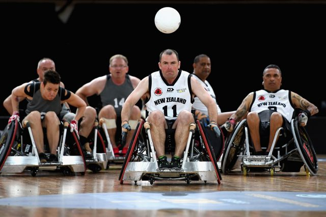 All about sports: #3 – Wheelchair Rugby